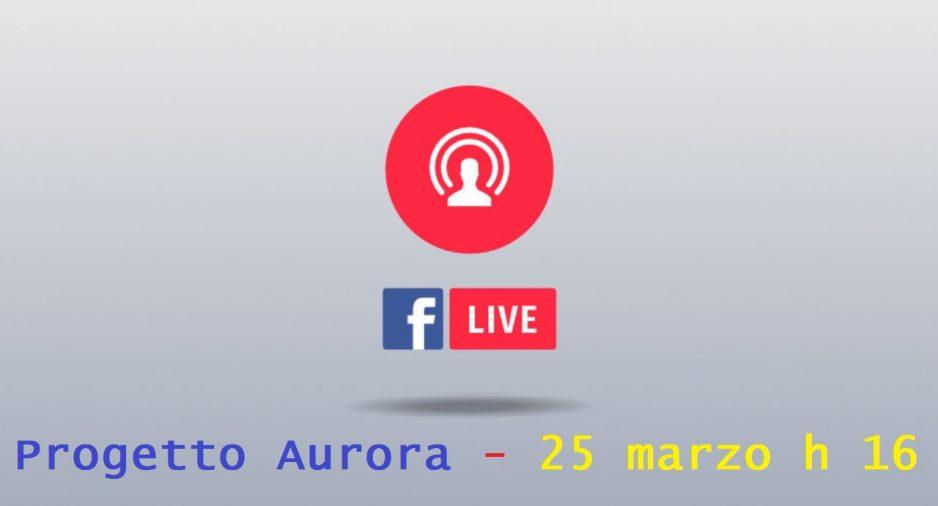 25 Marzo: Diretta FB per parlare di violenza sulle donne