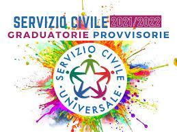Graduatorie provvisorie Servizio Civile 2021/22